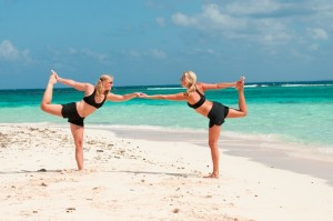 Group Beach Yoga