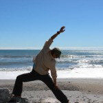 Warrior Pose- Tasman Sea, West Coast, New Zealand